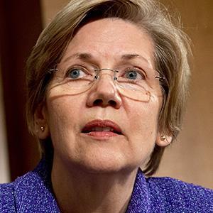 Senator Elizabeth Warren, a Democrat from Mass. © Jacquelyn Martin/AP