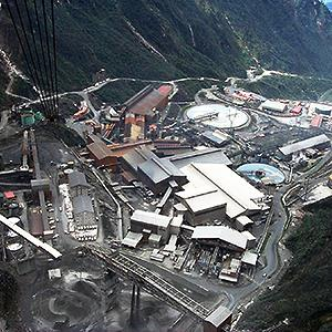 Credit: © ReutersCaption: An aerial view of a giant mine run by U.S. firm Freeport-McMoran Cooper & Gold Inc., at the Grassberg mining operation, in Indonesia's Papua province
