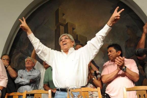 Moyano podria ser candidato a presidente en 2015