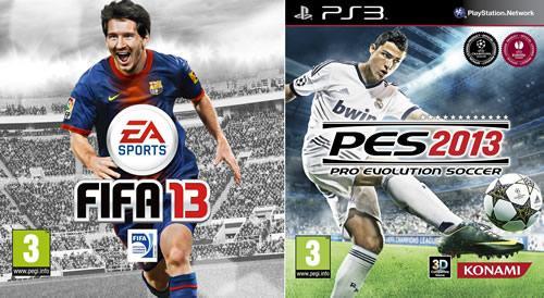 Fifa 13 vs Pes 2013 Cuál es el mejor simulador de fútbol