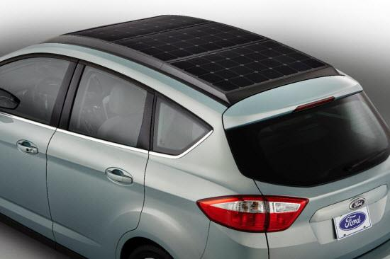 Ford C-MAX Solar Energi Concept. Photo by Ford.