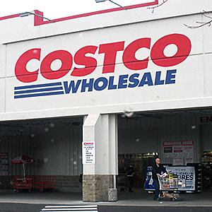 Costco Wholesale Store in Clarkton Wash. © Francis Dean/Rex Features