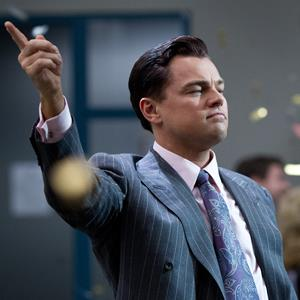 Leonardo DiCaprio in 'The Wolf of Wall Street' © Paramount Pictures