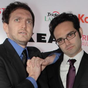 The Fine Brothers (Rafi & Benny) at the 2010 Streamy Awards Via The Bui Brothers; Streamy Awards Photo 0333; Creative Commons