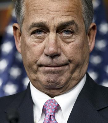 El presidente de la Cámara de Representantes, John Boehner (ASSOCIATED PRESS)