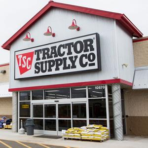 A Tractor Supply Company retail store© Kristoffer Tripplaar / Alamy