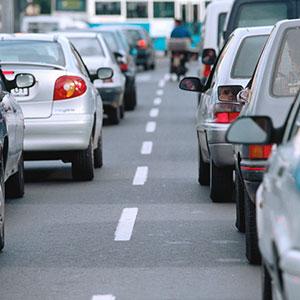 Image: Traffic © Pixtal, SuperStock