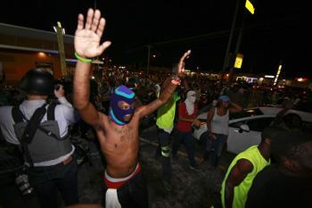 Protesta en Ferguson, Missouri (Getty Images)