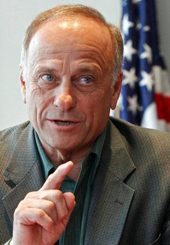 El republicano Steve King (Foto de archivo-Reuters)