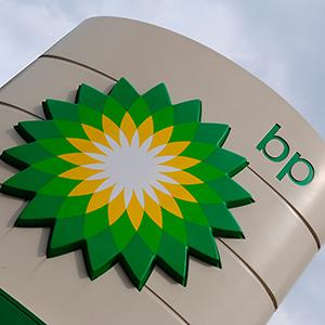 A British Petroleum (BP) logo © Toby Melville/Reuters