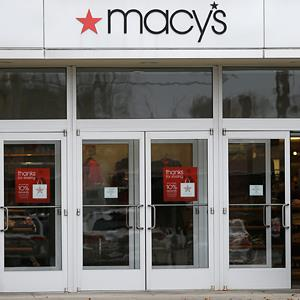 Credit: © Tony Dejak/AP Caption: A Macy's department store