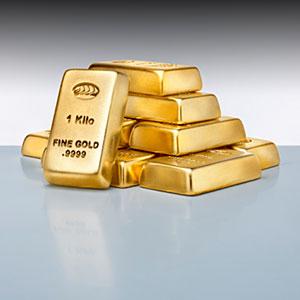 Image: Small Stack of gold ingots © Anthony Bradshaw/Photographer