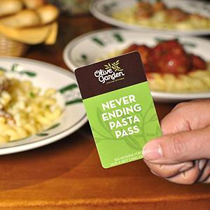 Credit: Courtesy of Olive Garden