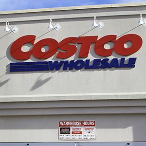 A Costco Wholesale store in Illinois