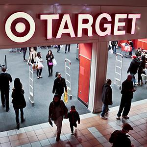 Shoppers at a Target store in New York (© Bebeto Matthews/AP)