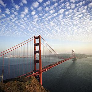 Golden Gate Bridge in San Francisco © Kim Steele/Digital Vision/Getty Images