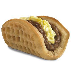 Taco Bell's breakfast waffle taco (© Taco Bell/AP Photo)