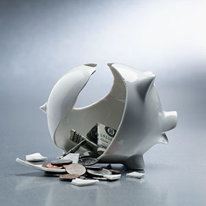 Piggy bank © Corbis