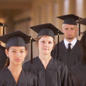 College graduates © Ariel Skelley / Blend Images/Getty Images