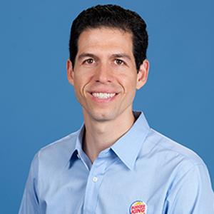 Photo caption: Daniel Schwartz, Burger King CEO